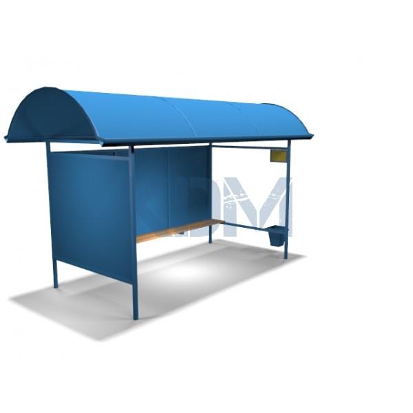 Автобусный павильон ПОм 4/5м фото товара
