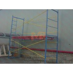 Строительные рамные леса ЛРП 2000 - 60 - 2 фото